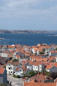Vy över södra hamnen i Lysekil | FOTO: Tomas Sandström