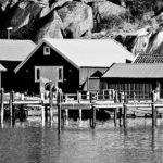 Sjöbodar, Bovallstrand
